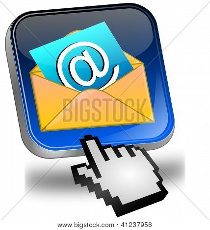 E-Mail Button with Cursor