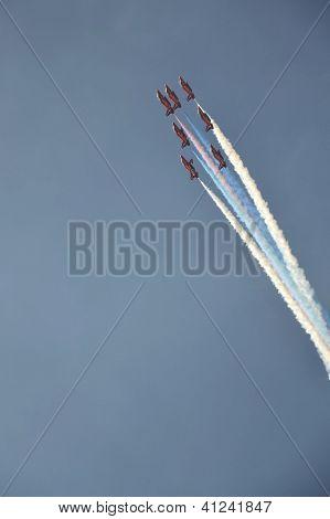 Aerobatic planes