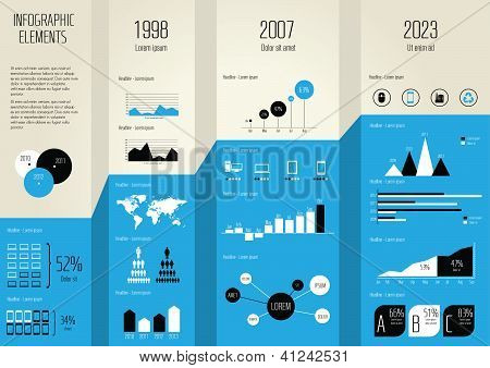 Detail infographic vector illustration.