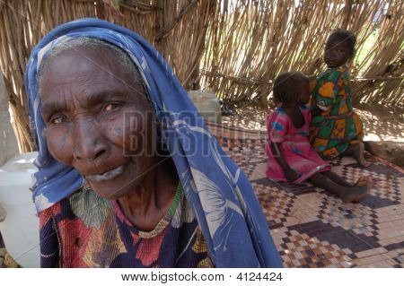 Grandmother In Darfur