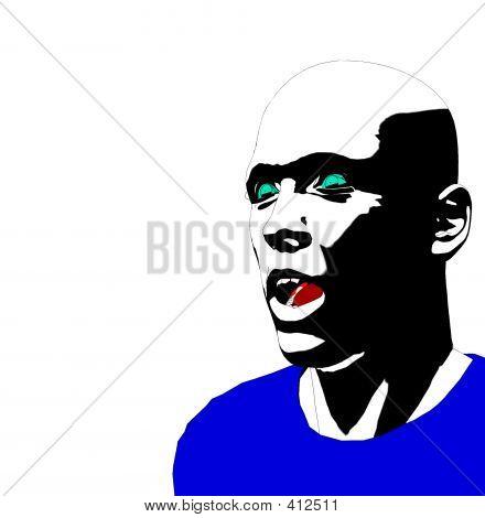 Man Face 10