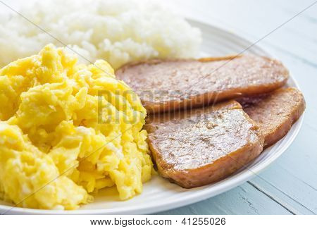 Spam, Eggs and Rice