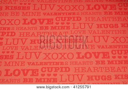 Love, Hugs, Kisses, XOXO...