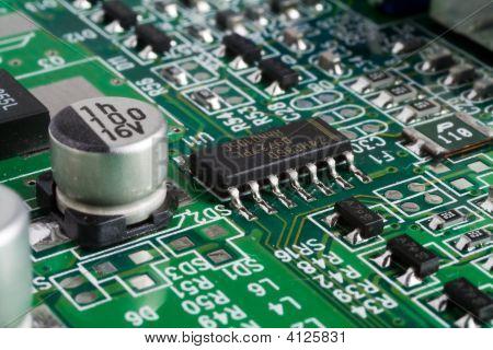 Tarjeta de circuitos de computadoras