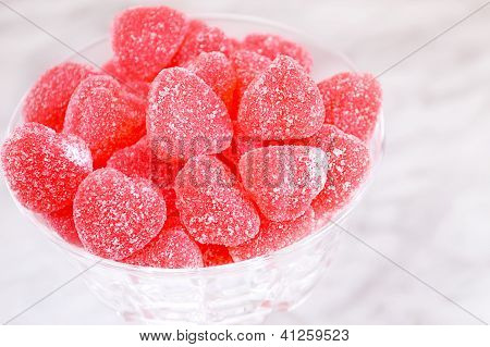 Red Jelly Candies