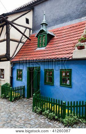 Golden Lane Little House, Prague