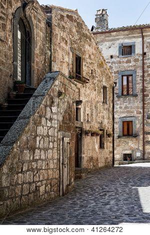 Italian Architecture in Civit� di Bagnoregio - Umbria