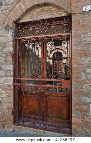 Doors And Windows Of Umbria