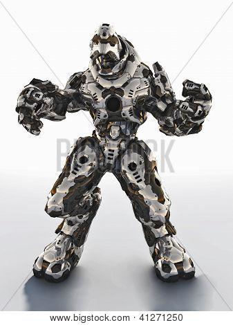 Alien Combat Droid