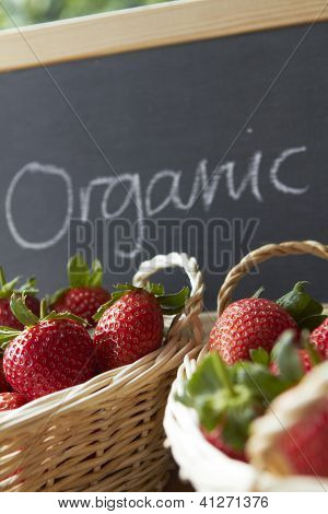 Organic Strawberries For Sale