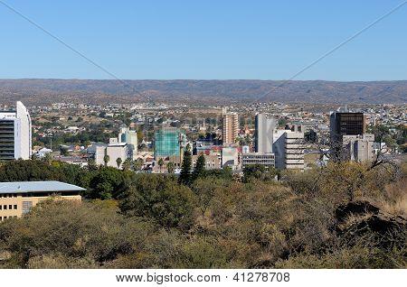 Paisaje urbano de Windhoek