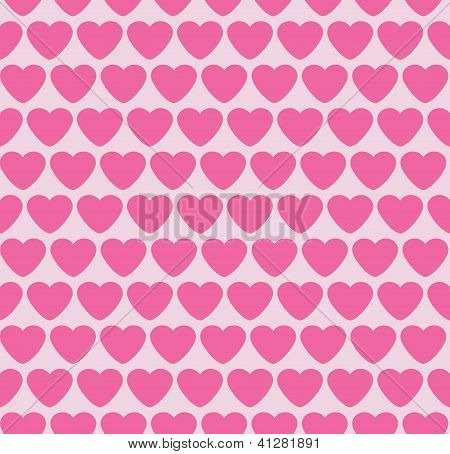 Seamless background with hearts. Valentine.