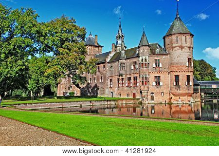 beautiful romantic holland castle de Haar (from my castles collection)
