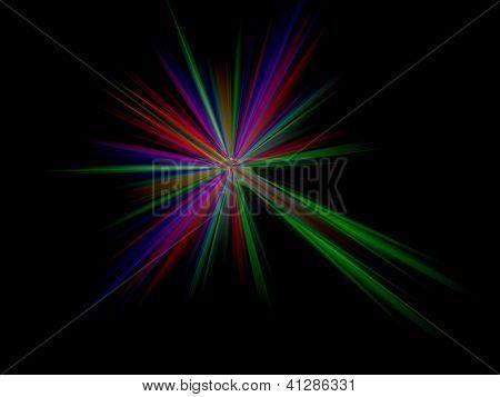 Abstract Background, Firework Sparkler