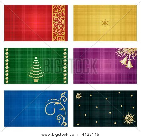 "Business Cards, Greeting Cards, Gift Tags, Etc. 3"" X 2.5"" Templates"