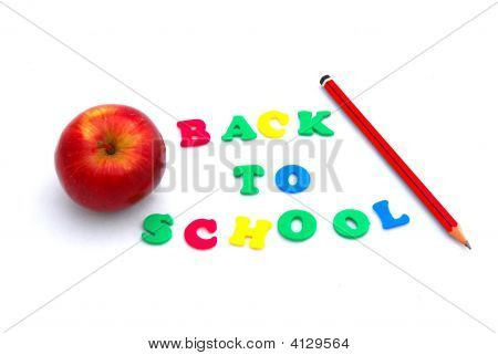Colorful Back To School