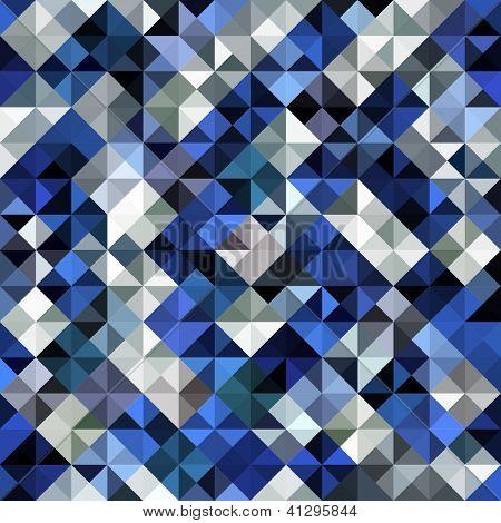 Seamless mosaic background. Vector illustration.