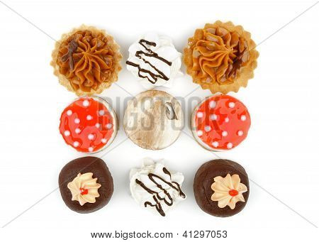 Arrangement Of Cakes