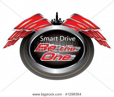 Vector Of Smart Drive Concept