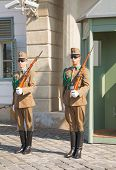 Guards Of Honor In Budapest, Hungary