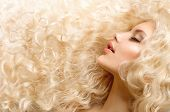 image of perm  - Curly Hair - JPG