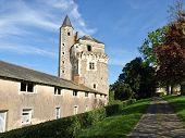 Medieval Castle In France poster