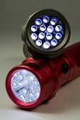 picture of diodes  - Two LED flashlights  - JPG