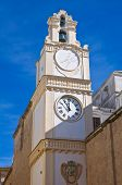 Clocktower. Gallipoli. Puglia. Italy.