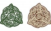 picture of triskele  - Traditional Celtic triskell - JPG