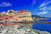 picture of genova  - Colorful Italy series  - JPG