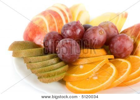 Healthy Combination Of Fresh Fruits