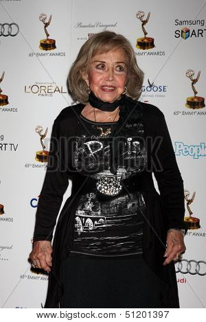 LOS ANGELES - SEP 20:  June Foray at the Emmys Performers Nominee Reception at  Pacific Design Center on September 20, 2013 in West Hollywood, CA