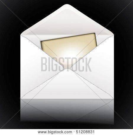 Envelope. Rasterized illustration. Vector version in my portfolio