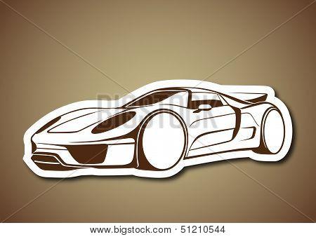 Super auto over brown