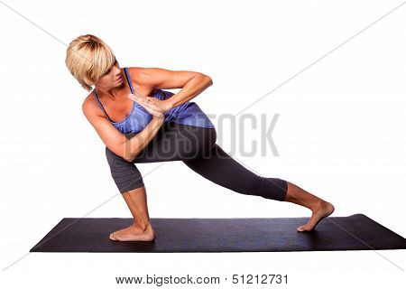 Yoga Exercise Stretching