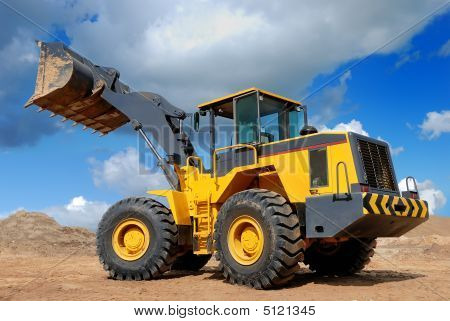 Five-ton Wheel Loader Buldozer