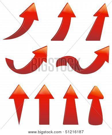 Type Of Various Arrow Set