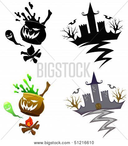 Detail Halloween Decoration Set