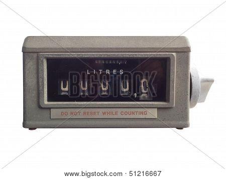 Vintage Meter Gas Pump