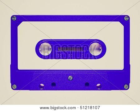 Retro Look Tape Cassette
