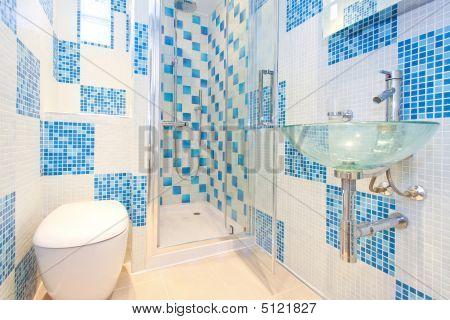 Blue Lavatory 2