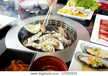 Fresh Seafood Grill Koren Style
