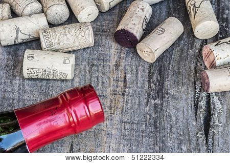 Corks With Bottle