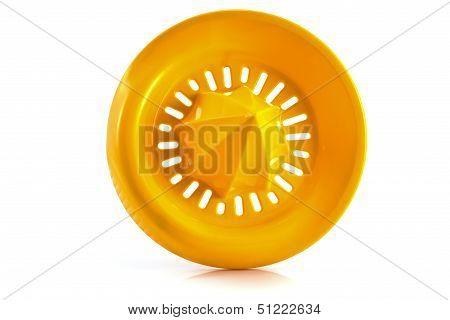 Orange Plastic Lemon Squeezer