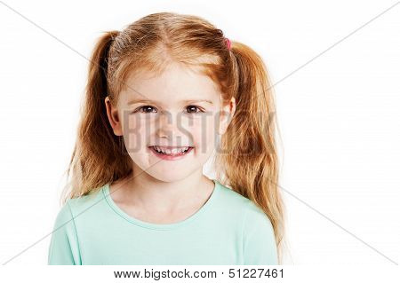 Cute Three Year Old Girl