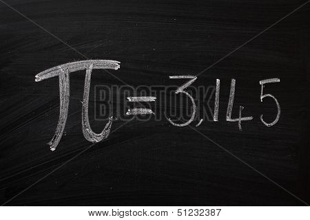 The symbol for Pi