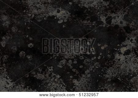 Black and gray organic background