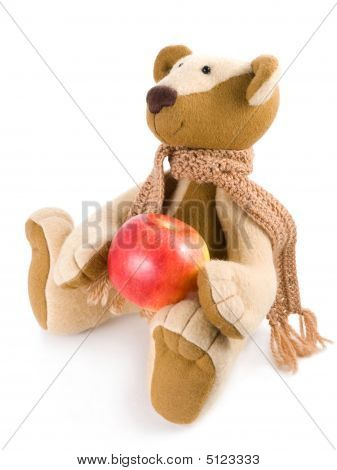 Bear With Apple