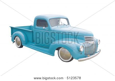 Blue Green Pickup