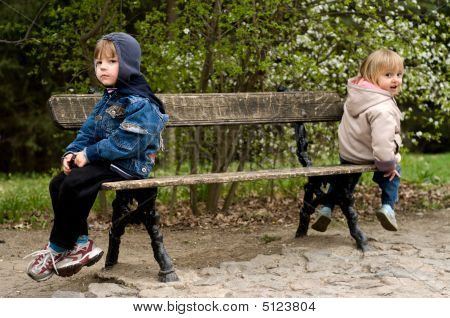 Offended On A Bench